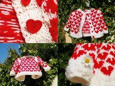 Baby Cardigan Little Valentine (handknitted) https://www.etsy.com/listing/123920257/baby-cardigan-little-valentine?ref=teams_post