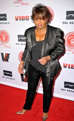 Anita Baker at the 2013 Vibe 20th Anniversary Inaugural Impact Awards Event