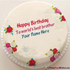Birthday Cake With Photo Edit With Name Photo Happy Birthday