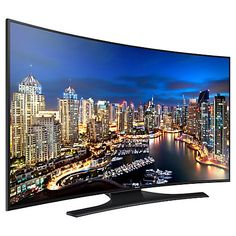 """Buy Samsung UE55HU7200 Curved 4K Ultra HD Smart TV, 55"""" with Freeview/Freesat HD Online at johnlewis.com"""