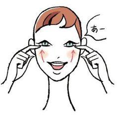 しっかり動かして鍛えなければ、口元や頬が垂れ下がってきます。「デンタル美顔」プロデューサー、歯科医師の、是枝伸子先生が、口元のたるみ・下がりを改善する「顔筋トレ」を伝授!