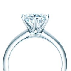 The Tiffany® Setting, Tiffany's classic diamond engagement ring. #TiffanyPinterest