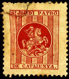 #Segells #SantJordi2016 Barcelona, Image Cat, Balearic Islands, Cats, Historia, Spain, Gatos, Barcelona Spain, Cat