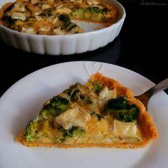 Słodka Strona: Wytrawna Tarta z Brokułami i Serkiem Camembert