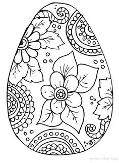 designs free coloring page easter kleurplaat pasen 3 egg painting patterns to use for painting rocks - Free Printable Coloring Pages Easter Basket