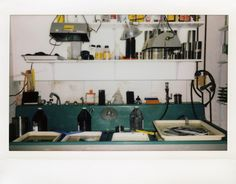 There are few spaces quite like the photographer's darkroom..