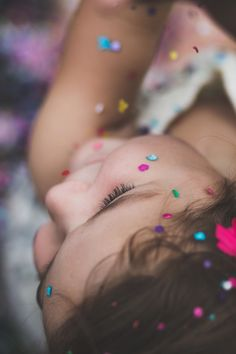Kelley Deal Photography - Confetti for Charlee's 3rd Birthday! | NCphotographer | Lifestylephotographer