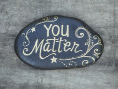 Personalized Paperweight Rock Handpainted by Etsy, $12.00