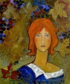 Krystyna-Ruminkiewicz - Jesienna,60x50,olej