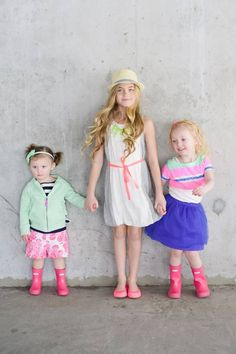 Bold and Bright Spring Kids Fashion by Ivory Lane and Sweet Little Peanut http://wet.pt/10TqXIG
