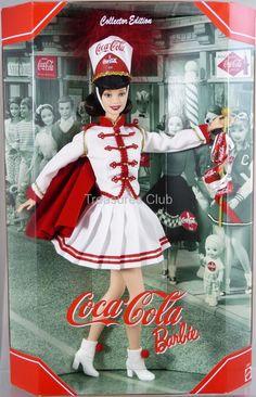 Coca Cola Barbie Doll Collector Edition #53974 New NRFB 2001 Mattel, Inc. 14+ #MattelInc #Dolls