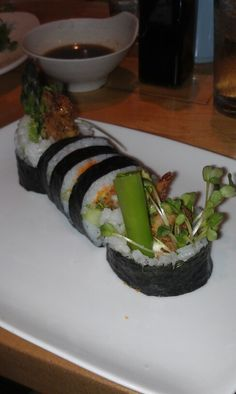 Spider roll of awesome!