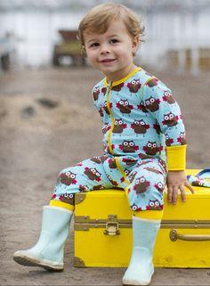 Pyjama hiboux avec fermeture éclair 27,50€