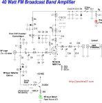 Single-Ended-Triode (SET) Amplifier Schematic Electrical Circuit Diagram, Electronic Schematics, Electronic Circuit, Speaker Plans, Valve Amplifier, Electrical Code, Powered Speakers, Vacuum Tube, Bluetooth Speakers