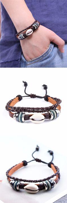 2017 genuine leather bracelet women,snaps jewelry adjustable love bracelets & bangles,conch cuff bracelet for women
