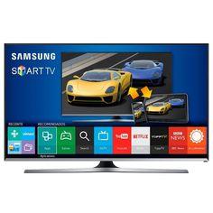 Smart TV LED 40 ´ Samsung Full HD UN40J5500AGXZD 3HDMI 2USB 120 Hz + Soundbar Samsung HW - H370 120W 2.1 Canais Bluetooth