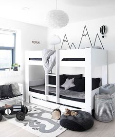 Happy Friday everyone! How cool is this little boy's room! The gorgeous home of @my.little.royals VITA Eos light shade available in our online store. . #kidsroom #kidsroomdecor #nordichome #nordicinspiration