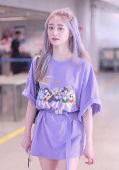 Fashion Cover, Fashion Tag, Korea Fashion, Daily Fashion, Fashion Outfits, Womens Fashion, Ioi, Airport Style, Kpop Girls