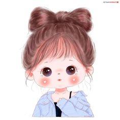 Cute Cartoon Pictures, Cute Cartoon Drawings, Cute Cartoon Girl, Girly Drawings, Cute Love Cartoons, Cartoon Girl Drawing, Anime Girl Drawings, Cartoon Pics, Cute Cartoon Wallpapers