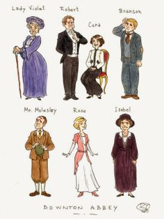 Downton Abbey Addicts: Downton Abbey FanArt Love