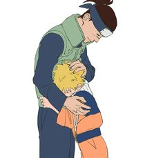 I love Iruka and Naruto's brother/dad-son relationship