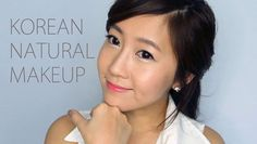 Korean Natural Makeup Tutorial: I'm of Eastern European descent, so not sure how well this will work with my olive skin and thick dark brows, but I like her contouring technique and the neutral shades she uses. Maybe I'll just tweak it a little...