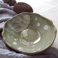 made by PAN Gongjakso 물고기 대접 fish bowl designize@gmail.com