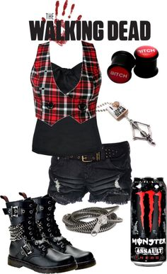 """The Walking Dead3"" by batmanjayy ❤ liked on Polyvore"