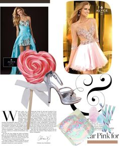 """""""Candy Themed Sweet 16 Party"""" by rissyroos on Polyvore"""