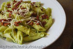 Recipes of a Cheapskate: Avocado Pasta