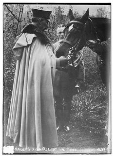 Kaiser & his horse -- [between ca. 1910 and ca. 1915]. Courtesy of Library of Congress.