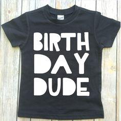 fb531cd9 boys birthday shirt, boys shirt, birthday tee, birthday dude, first birthday  shirt