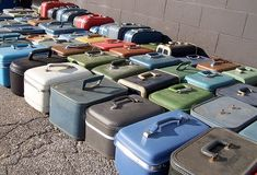 vintage train cases (Another's Treasure: November 2009)