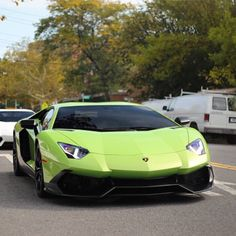 Lamborghini Aventador 50° Anniversairo Edition Coupe painted in Verde Ithaca   Photo taken by: @nyexoticcars on Instagram