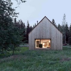 Haus am Moor is a minimalist house located in Krumbach, Austria, designed by Bernardo Bader Architects.