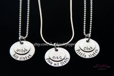 Want this!    Hey, I found this really awesome Etsy listing at https://www.etsy.com/listing/175073642/mother-daughter-jewelry-necklace-set