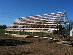 Passive Solar Greenhouse - 4 Seasons Farm Market