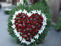 Fake Flower Arrangements, Funeral Floral Arrangements, Fake Flowers, Grave Decorations, Flower Decorations, Funeral Sprays, Casket Sprays, Cemetery Flowers, Sympathy Flowers