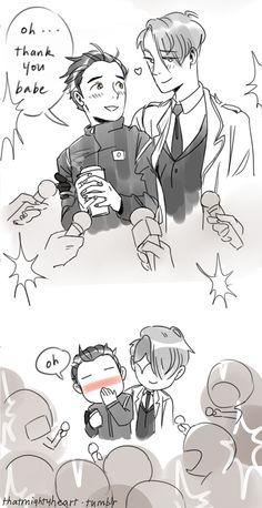 yuri on ice | Tumblr - Viktor....Yuuri, my darling Katsudon!