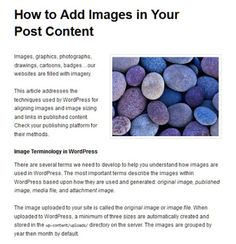 how to add headings to your post articles in wordpress