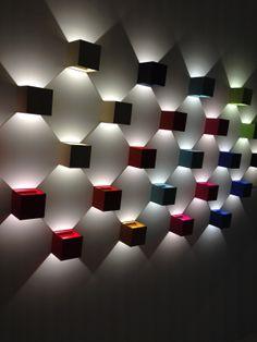 Reforma y decoraciones en Santiago de Compostela con Imdetec S. Cool Lighting, Modern Lighting, Lighting Design, Ceiling Design, Wall Design, House Design, Light Art, Lamp Light, Room Lights