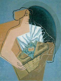 """topcat77: """" Juan Gris Woman with a Basket """""""