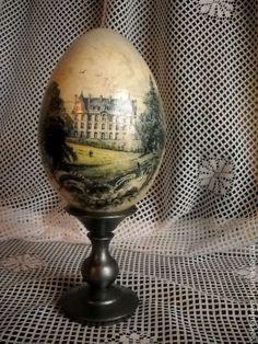 Яйца ручной работы. Ярмарка Мастеров - ручная работа яйцо интерьерное. Handmade.