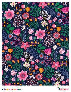 Wild Floral | pattern by helen dardik