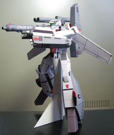 Papercraft World: Macross Robotech Papercraft