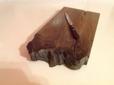 Cutting Board Bog Oak 800-6500 years old FOR SALE office@riverwood.eu