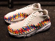 """Nike Footscape Woven Chukka Motion """"Rainbow"""" Pack   # Pin++ for Pinterest #"""