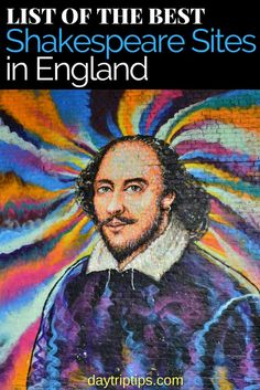 Take a look at all the cool places you can go in England and experience Shakespeare, the Bard. #London #England #Shakespeare #daytriptips #unesco