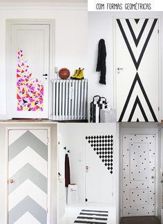 As portas da sua casa integradas na decoração