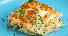 Πανεύκολο γρήγορο πεντανόστιμο φαγητό που θα το ευχαριστηθεί όλη η οικογένεια !!! Κοτόπουλο με πένες και τυριά στον φούρνο !!!! Δοκ... Baked Chicken Pasta Recipes, Cheesy Chicken Pasta, Shredded Chicken Recipes, Chicken Alfredo, Broccoli Alfredo, Broccoli Bake, Recipe Pasta, Alfredo Recipe, Chicken Broccoli